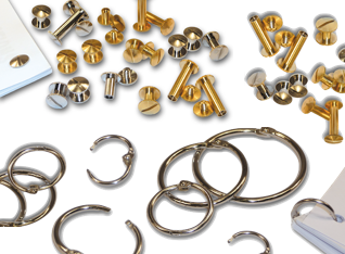 Binding Screws & Rings
