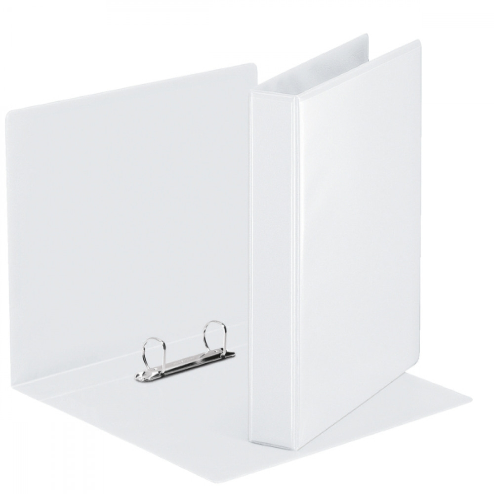 2D Ring Binder 25mm White A4