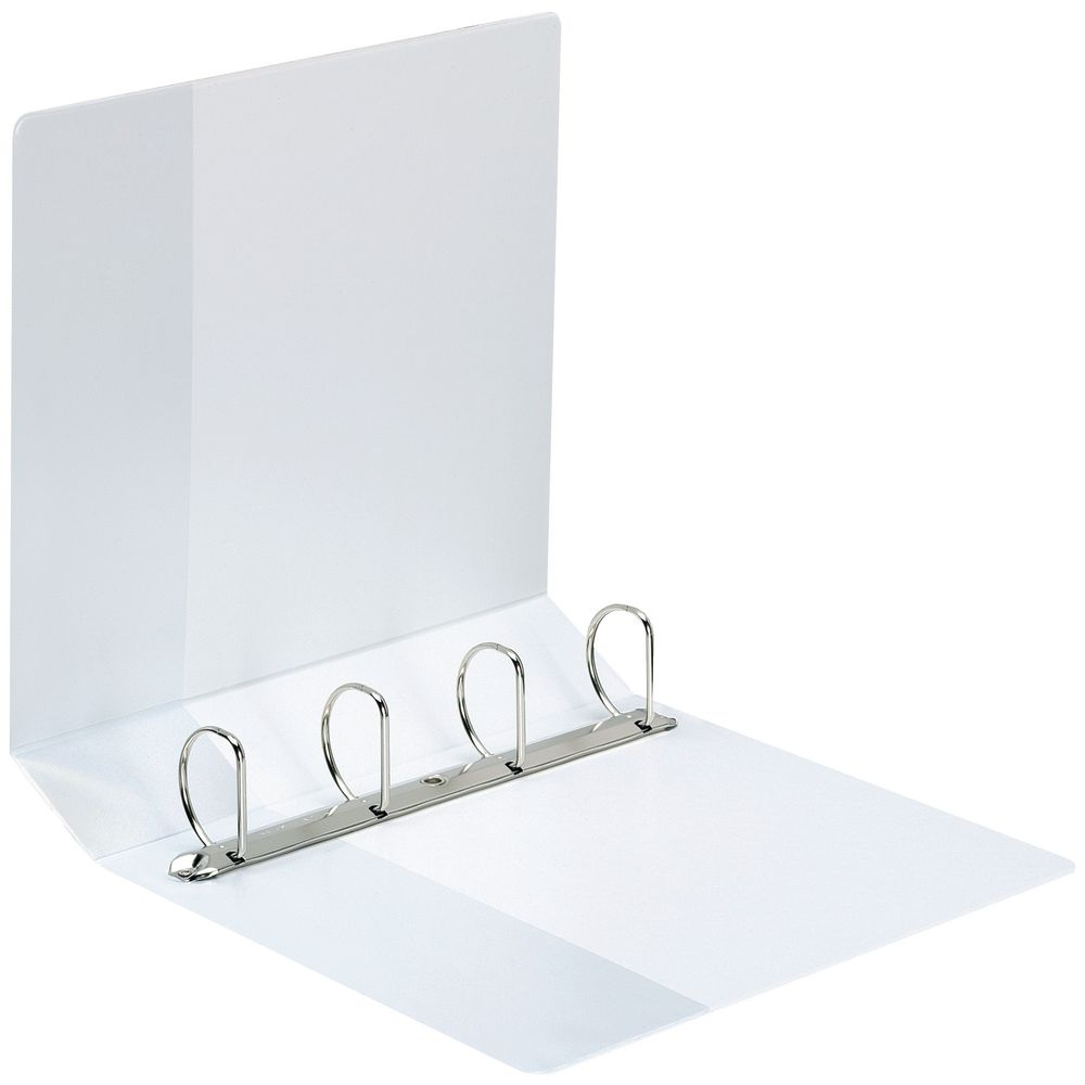 4D Ring Binder 50mm White A4