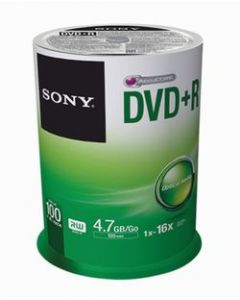 Sony DVD+R Spindle of 100