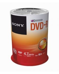 Sony DVD-R Spindle of 100