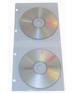 Double CD/DVD Binder Pockets