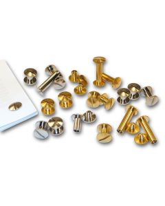 3mm Brass Binding Screws