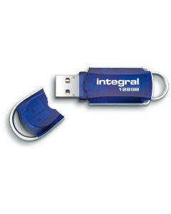 Integral Courier 128GB USB Flash Drive lid