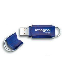 Integral Courier 16GB USB Flash Drive lid