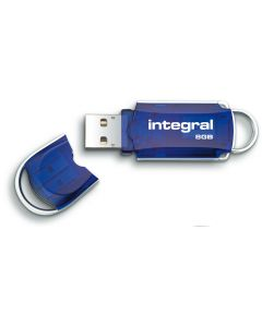 Integral Courier 8GB USB Flash Drive lid