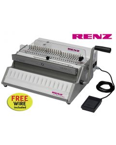 Renz Eco 360 Comfortplus 2:1 Electric Wire Binding Machine offer