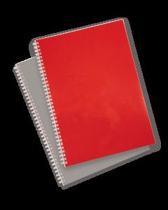 A4 Coloured Gloss Binding Covers