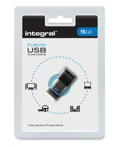 Integral Fusion 16GB USB Flash Drive package