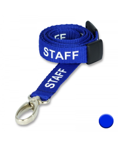 Staff Lanyards with Metal Lobster Clip