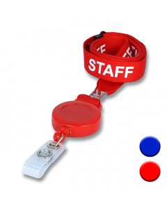 Staff Lanyard Badge Reels