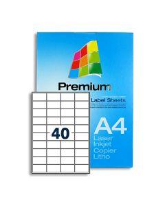 40 Labels per A4 sheet - LL40