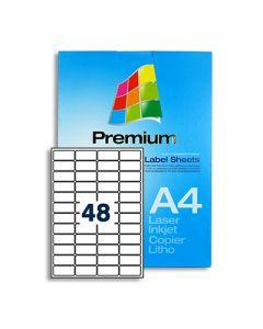 48 Labels per A4 sheet - LL48
