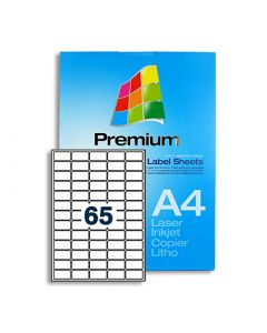 65 Labels per A4 sheet - LL65
