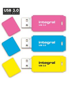 Integral Neon 8GB USB 3.0 Flash Drive