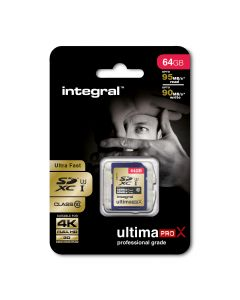 64GB UltimaPro X SDXC Card