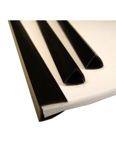 10mm Flat Back Slide Binders A4