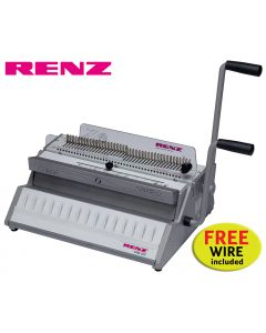 Renz SRW 360 3:1 Wire Binding Machine offer