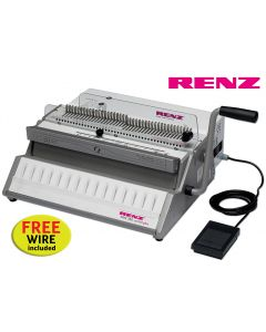 Renz SRW 360 Comfortplus 3:1 Electric Wire Binding Machine offer