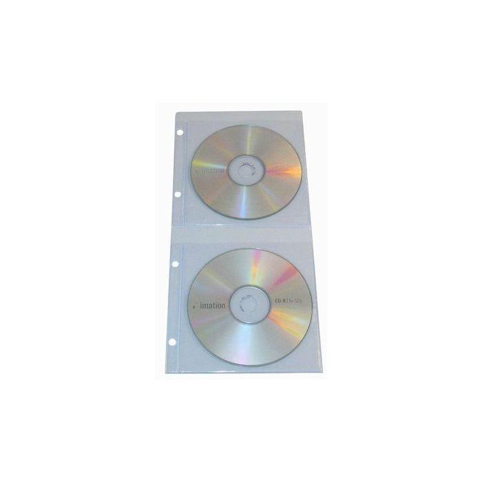 Double CD/DVD Binder Pockets