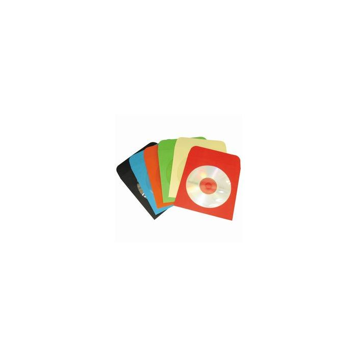Coloured Paper CD/DVD Wallets