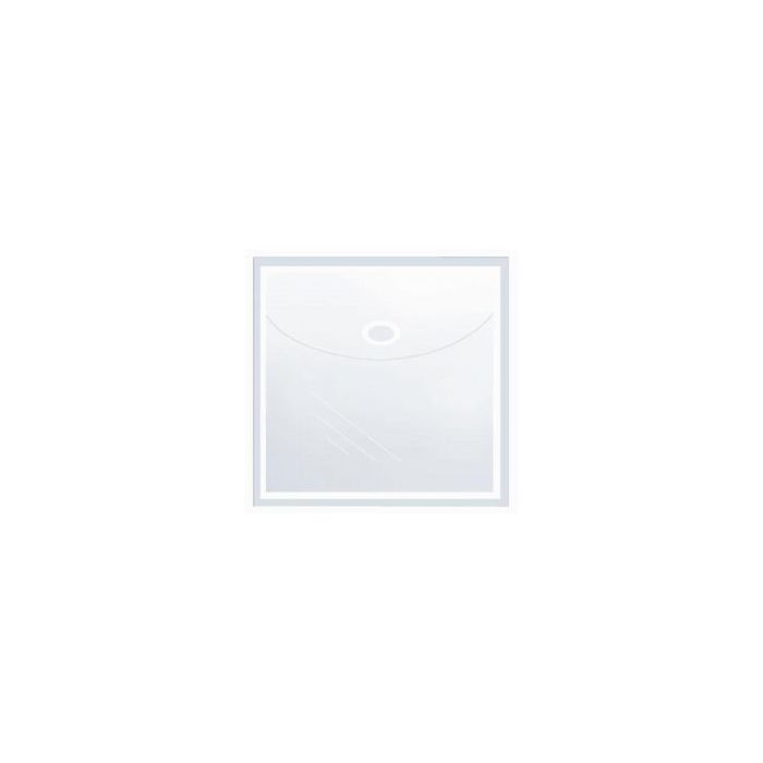 Self-Adhesive CD/DVD Pockets - Square with Flap