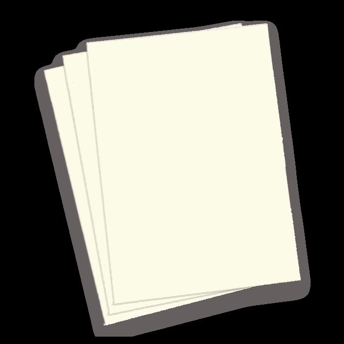 A3 White Gloss Binding Covers