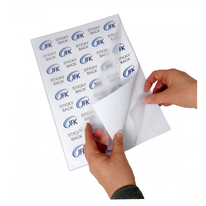A4 150 Micron Sticky Back Gloss Laminating Pouches