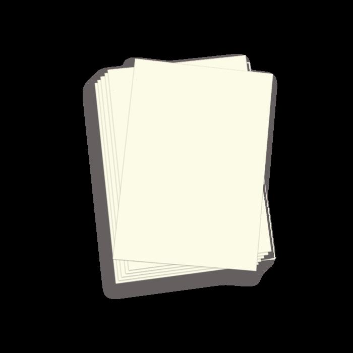 A5 White Gloss Binding Covers