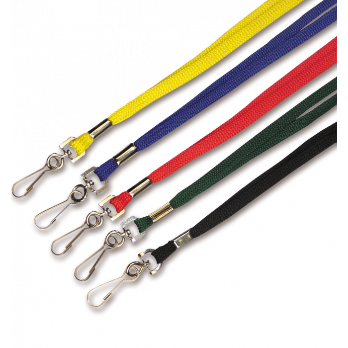 10mm Breakaway Lanyards with a Metal Dog Clip