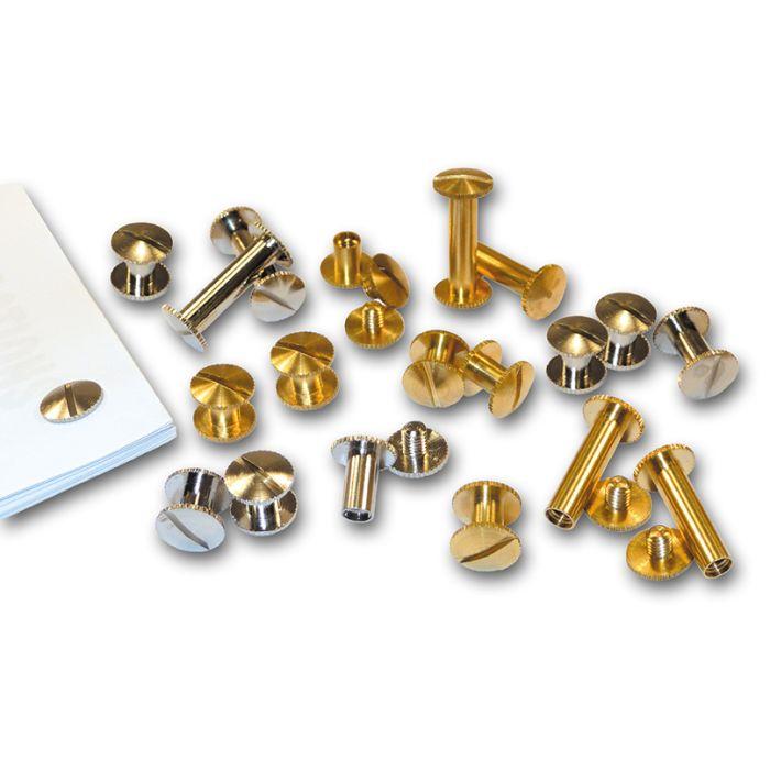25mm Nickel Plated Binding Screws