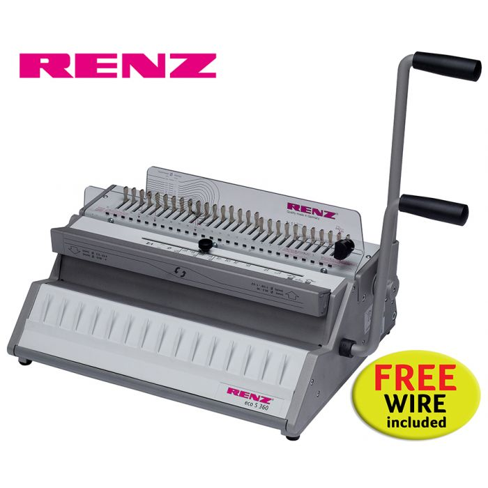 Renz Eco S 360 2:1 Wire Binding Machine offer