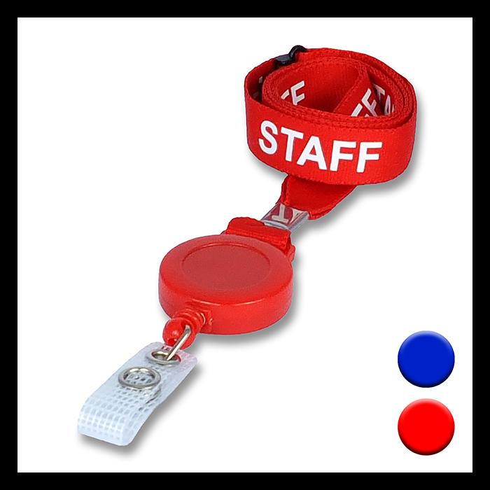 Staff Lanyard Badge Reels