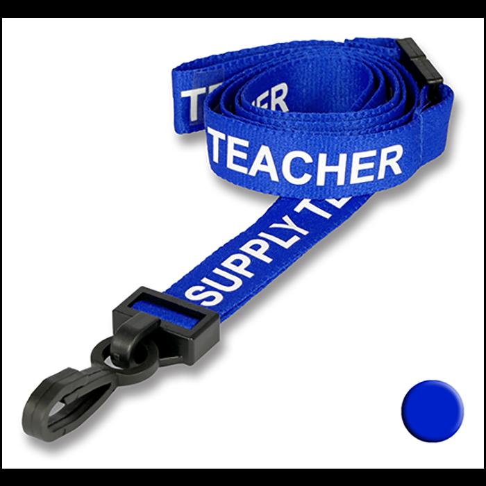 Supply Teacher Lanyards