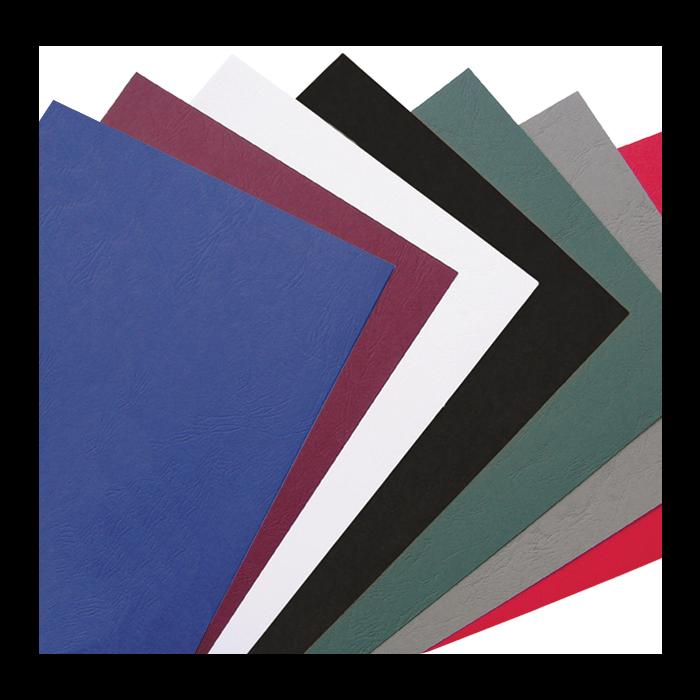A4 Leathergrain Binding Covers Plain