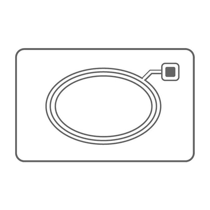 Blank White Plastic (PVC) CR80 Cards - Mifare 1K