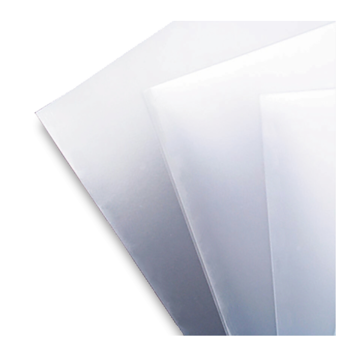 A4 Frosted Polypropylene Binding Covers 500 micron
