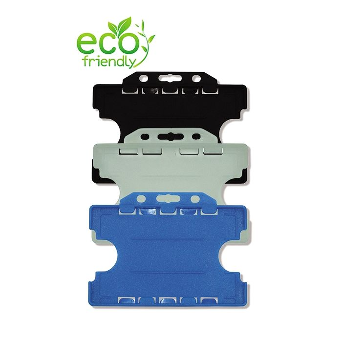 Double Sided Rigid Card Holders Landscape