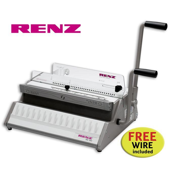 Renz RW 360 3:1 Wire Binding Machine offer