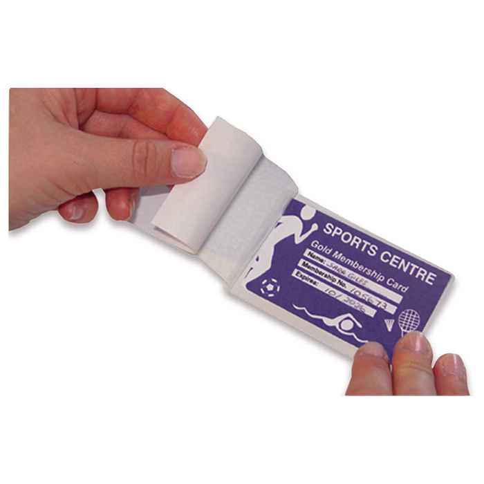 Credit Card Self Seal Pouches - 610010