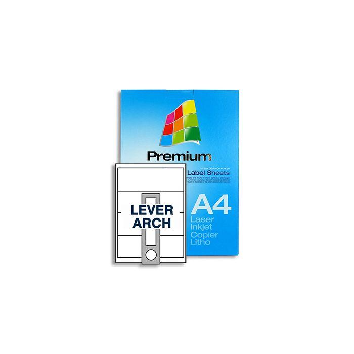 4 Labels per A4 sheet - SL4