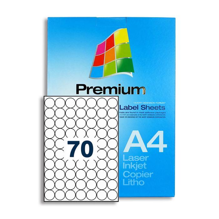 SLr25 White Multipurpose Labels