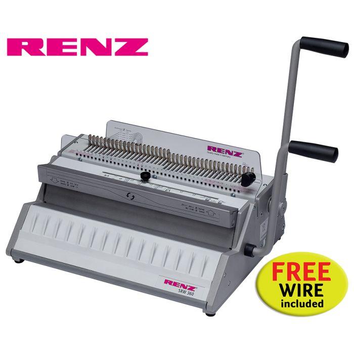 Renz SRW 360 3:1 Wire Binding Machine offer