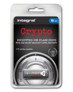 Integral Crypto 16GB Encrypted USB Flash Drive package
