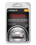 Integral Crypto 4GB Encrypted USB Flash Drive package