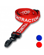 Contractor Lanyards colours