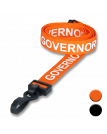 Governor Lanyards colours