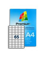 65 Labels per A4 sheet - LL65