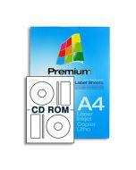 SL2P White Multipurpose CD Labels
