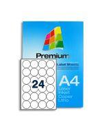 SLr45 White Multipurpose Labels